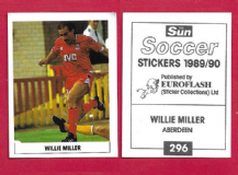 Aberdeen Willie Miller Scotland 296